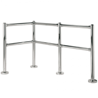 Alvarado Barrier Sections and Railing
