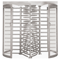 Alvarado Model CLSTT Full Height Security Turnstile
